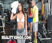 RealityKings - Sexy brunette Katana Kombat wants dick more than working out from piu i hansamali
