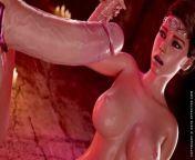 Cerene Royal Descent Trailer Futanari Blowjobs Assfucking and Cum from wayfarer 3d porn