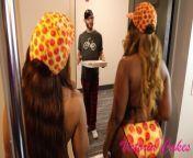 Pizza Sluts receives Special PIZZA DELIVERY from jameelah artiaga