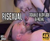 Quarantined Bisexual Double Blowjob & Facial from desi cum eat 3gp