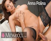 MOM XXX MILF in stockings Anna Polina enjoys a rock hard cock from anna hathway havoc sex