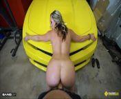 Roadside - Blonde MILF With Bubble Butt Fucks Mechanic from naagaha somalida ugu wasmada macan bbw six xxx fuck video com