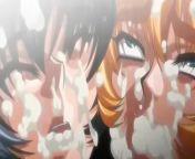 Insane Blowjob taimanin sakura hentai from taimanin asagi